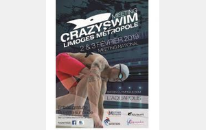 Meeting crazy'swim Limoges
